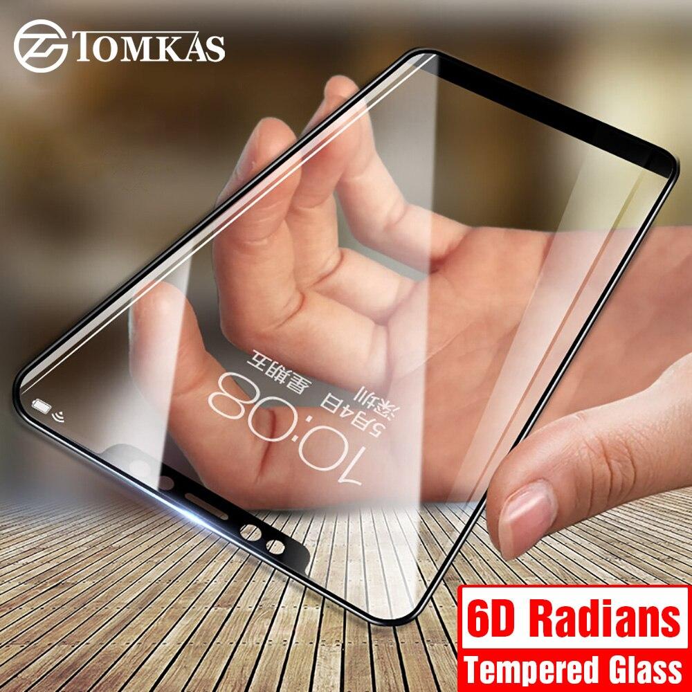 TOMKAS 6D защитный Стекло Для Сяо mi красный mi 6A Стекло Экран протектор mi A1 A2 6X Стекло для Xiaomi Redmi 5 плюс красный mi Примечание 5 Pro