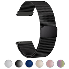 ASHEI 22mm Magnetic Milanese Loop Strap For Samsung Galaxy Watch 46mm Band 20mm Bracelet 42mm