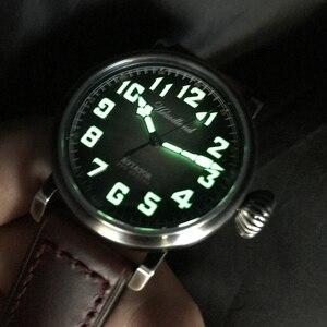 Image 3 - גברים של טייס רטרו שעונים Cusn8 ברונזה Diver שעוני יד 300m מים עמיד ספיר זכוכית שוויצרי תנועה לצפות עבור גברים זכר