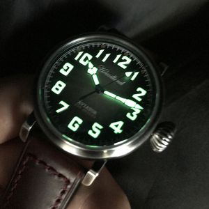 Image 3 - Relojes Retro de piloto para hombre Cusn8, reloj para buzo de bronce, de cristal de zafiro resistente al agua de 300m, reloj de movimiento suizo para hombre