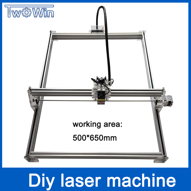 Laser engraver 50*65cm large area big power laser metal engraving machine cnc laser cutting mini laser module marking machine 10w laser engraver metal laser marking machine cnc router with 140 200mm engraving area for stainless steel aluminum marking
