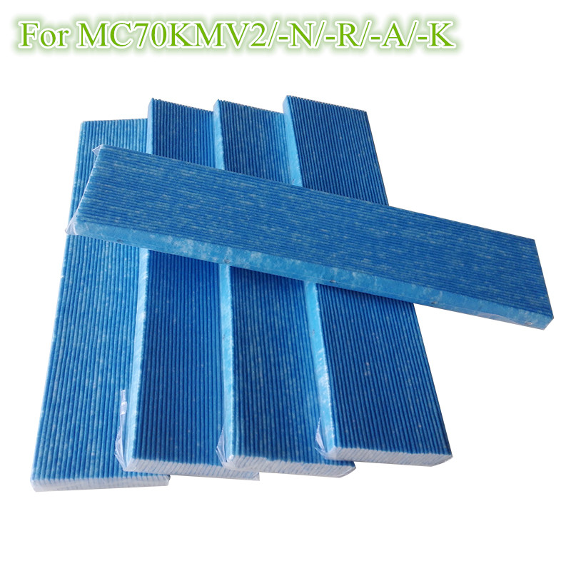 5 PCS Air Purifier Parts Filter MC70KMV2 series Filters for DaiKin MCK75JVM-K MC70KMV2N MC70KMV2R MC70KMV2K MC709MV2 1 piece black deodorizing catalytic filters for daikin mck75jvm k mc70kmv2 r mc70kmv2 k mc70kmv2 a air purifier filter parts