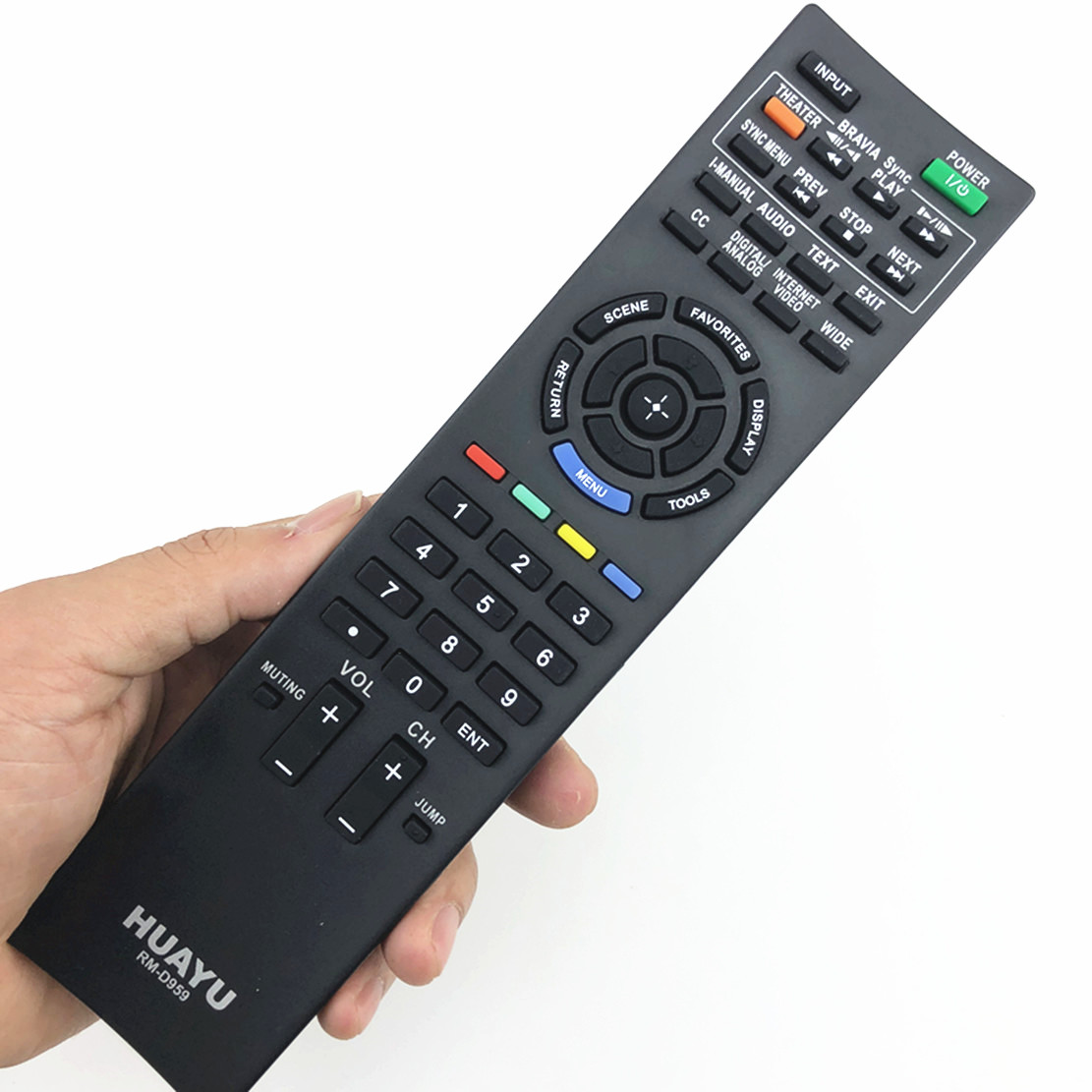 remote control suitable for Sony RM-GD005 KDL-32EX402 RM-ED022 RM-ED036 LCD TV genuine hongdak rm s1am 1 2 lcd wired remote control camera timer for sony alpha dslr a100 more