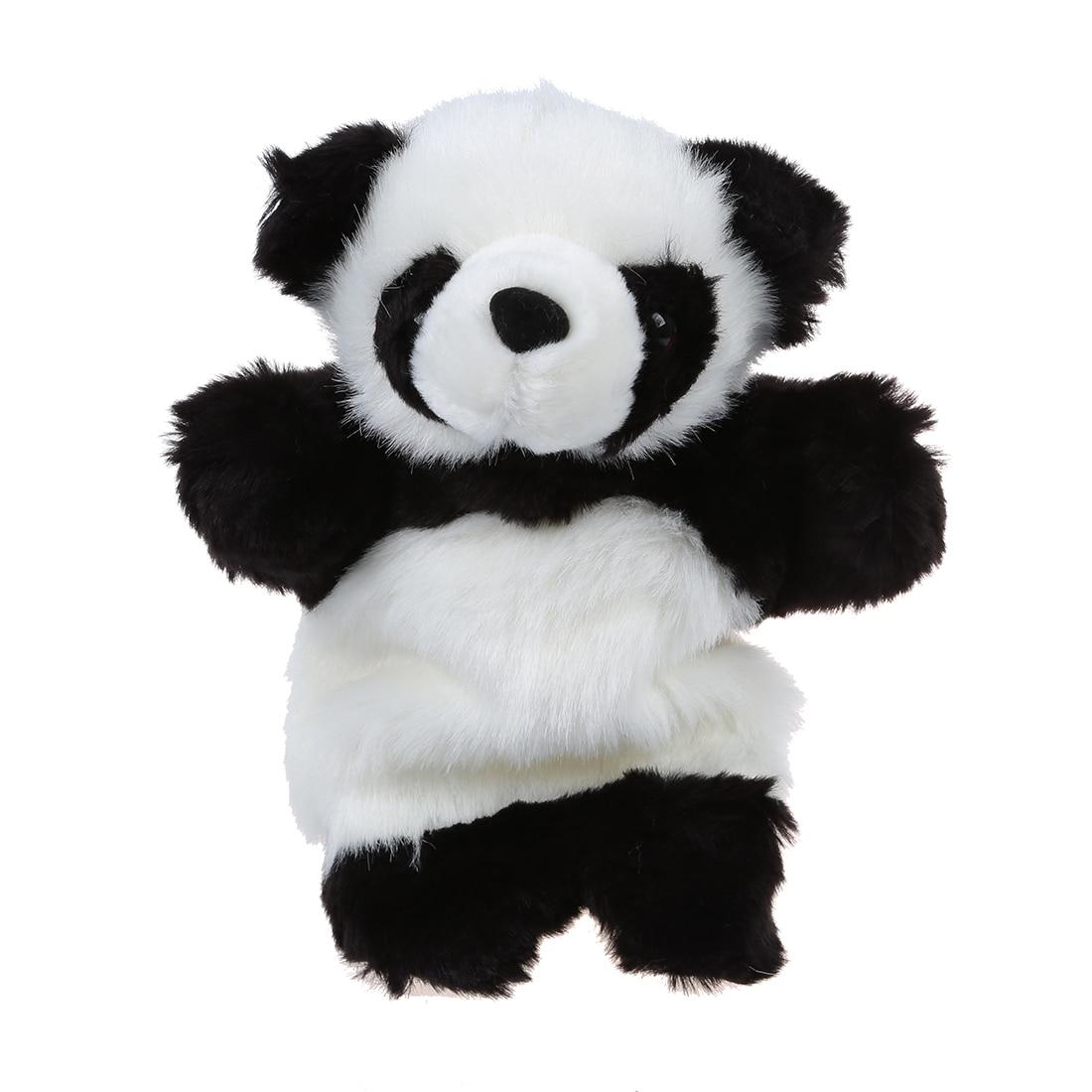 ABWE Cute Panda Wildlife Hand Glove Puppet Soft Plush Puppets Kid Childrens Toy Gift