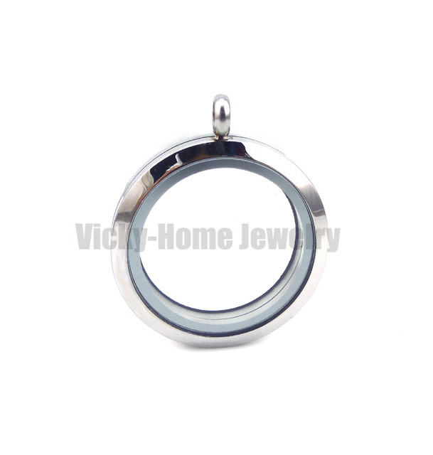 Hot selling 25mm 30mm round photo locket pendant stainless steel hot selling 25mm 30mm round photo locket pendant stainless steel origami owl floating lockets and aloadofball