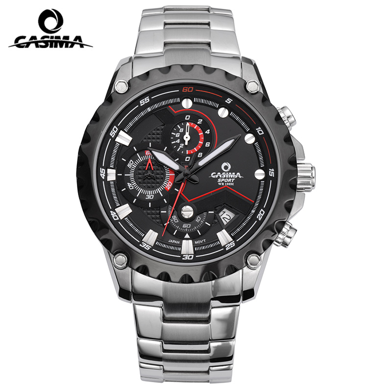 Luxury Brand CASIMA Sport Men Watch montre homme Waterproof Men Quartz Watches reloj hombre Watch Men Clock relogio casima luxury brand sport quartz watches men reloj hombre fashion silicone band100m waterproof men watch montre homme clock