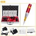 Clásica Rotary Kit de Tatuaje Maquillaje Permanente Máquina Multifuncional con Agujas fuente de Alimentación Pedal de Alta Calidad