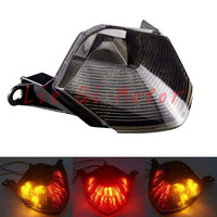 Motorcycle Tail Light LED Brake Taillight Integrated Turn Signal For For Kawasaki Z750 Z 750 2007