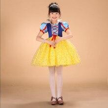 การ์ตูนเจ้าหญิงคอสเพลย์เด็กชุดสาวพิมพ์ชุดสำหรับวันฮาโลวีนเครื่องแต่งกายเสื้อผ้าพรรคเดรสvestidos menina de
