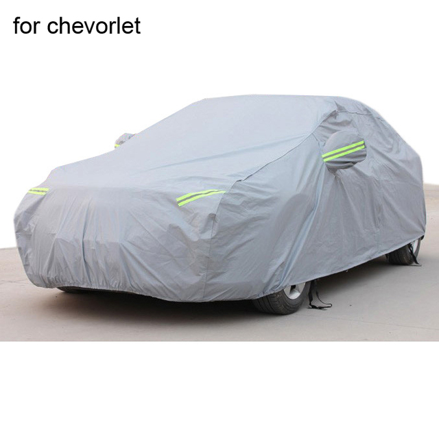For chevrolet cruze captiva aveo Car covers with cotton firm thicken Waterproof Anti UV Snow Dust two layer covers of car