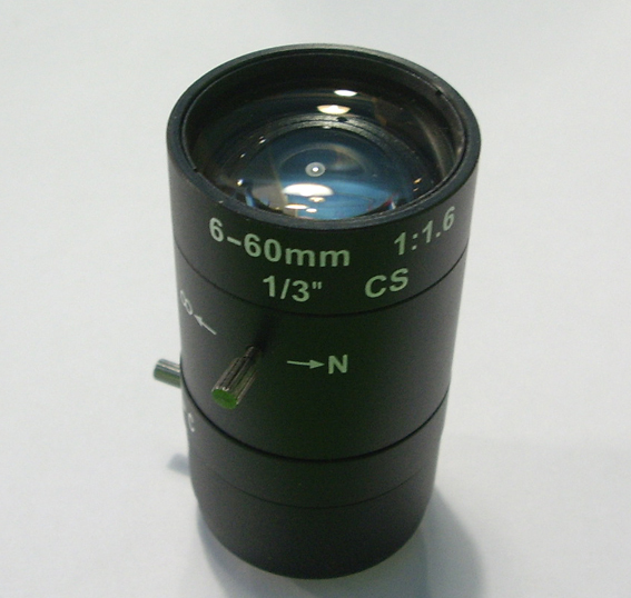 Special offer manual 6-60mm zoom lens / bolt / monitor special lens zoom lens /6-60