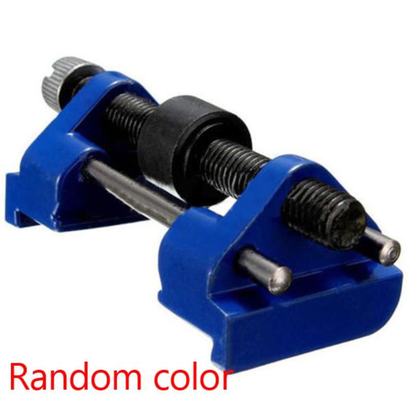 Mayitr metal bruñido herramienta guía Cinceles afilador ángulo fijo titular afilado plano hierro cepillos cuchillas herramienta azul 9.5x4x3.5 cm
