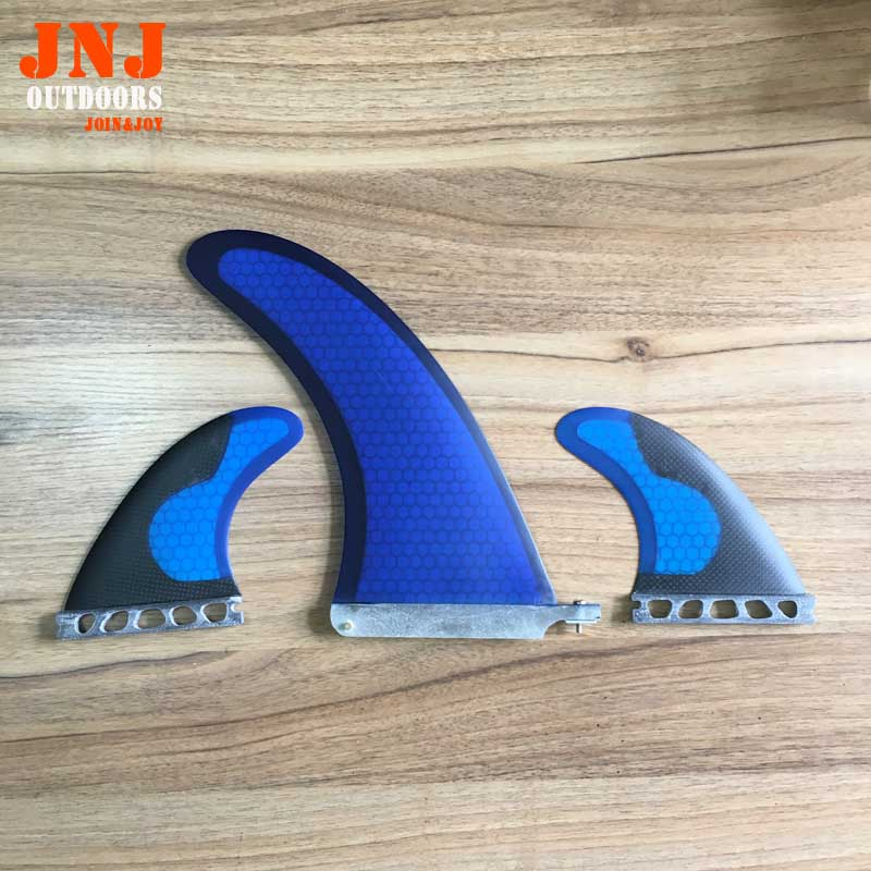 Free shipping sup paddle board fins 9 centre fin and carbon FUTURE G5 M sides fins 1set fitted surfboard fins fcs m g5 fins surf table surf fins with fcs g5 original bag
