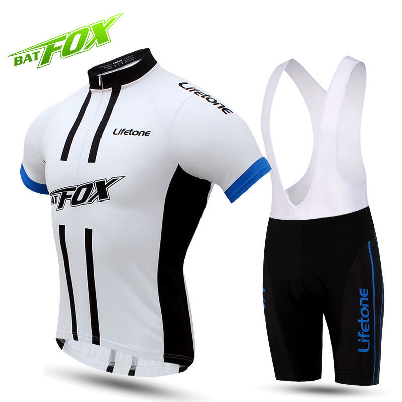a0ee2e21c BATFOX MBT Mountain Bike Jersey Summer Short Sleeve Cycling Jersey Sets Man  Breathable Sweat Quick Drying Bicycle Bike Clothing-in Cycling Sets from  Sports ...
