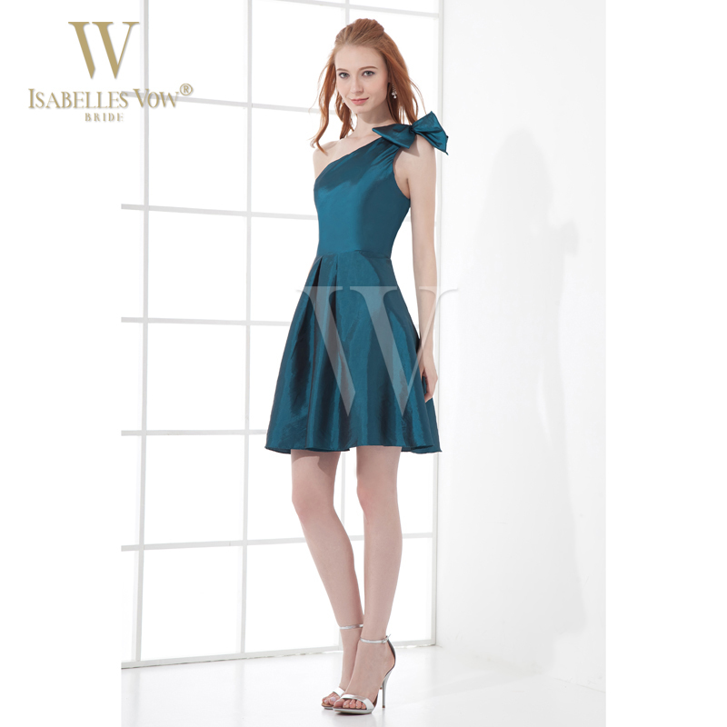 1b9fbd2a6f6 Sexy Lady Cocktail Dress Teal Short Mini Taffeta One Shoulder Petite  Cocktail Dress Homecoming Dresses Can Be Customized WD063-in Cocktail  Dresses from ...