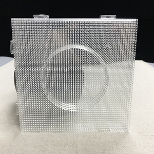 Image 2 - 4PCS 2.6mm Mini Hama Fuse Beads Transparent Big Square Pegboards Beads Boards DIY Material Template Perler Artkal Beads Pegboard
