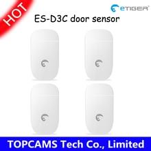 433 МГц Беспроводной Дверной/Оконный Контакт ES-D3B/C etiger Беспроводной Дверь Датчика Пропуска для gsm RFID главная сигнализация система etiger S4 4 шт./лот