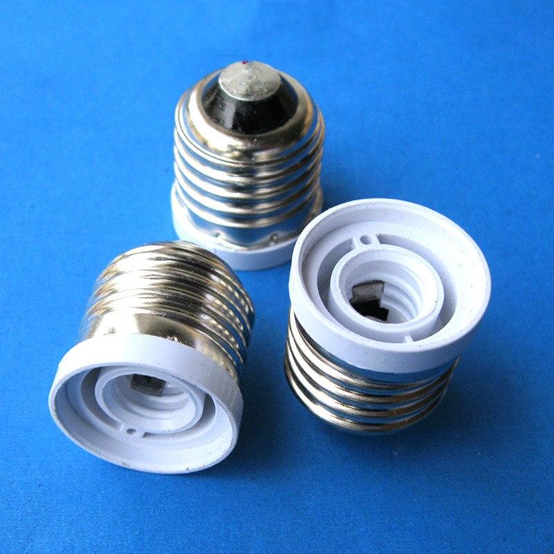 High Quality Fireproof Material E27 To E12 Lamp Base LED Light Screw Bulb Socket Adapter Converter