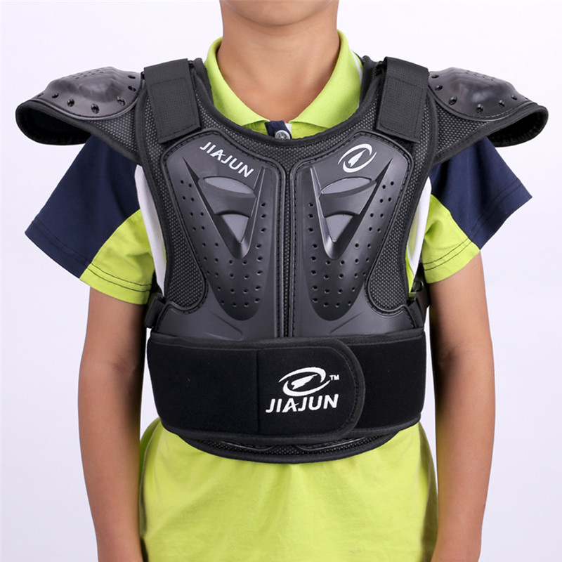 child Body Protector armor Motorcycle jackets Motocross back shield sleeveless vest Spine Chest Protective gears Jacket mens herobiker motorcycle armor chest back body armor vest motocross protective gears vest motorcycle jacket moto waistcoat l xl