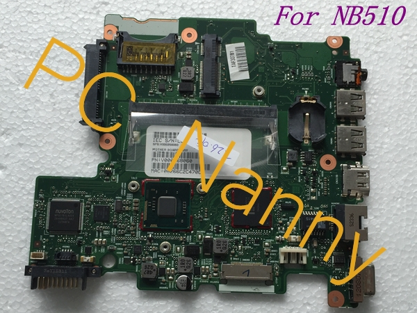 V000268060 6050A2488301 Laptop motherboard For Toshiba salellite NB510 INTEL N2800 CPU DDR3 Full tested