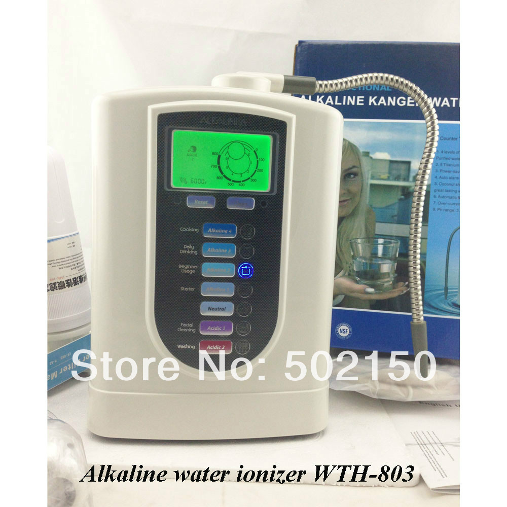 Hot sellingAlkaline water purifier, Alkaline water ionizer  WTH-803 wth 803 2013 hot selling alkaline water ionizer