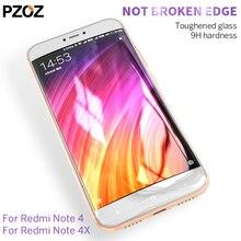 Pzoz xiaomi redmi note 4x glass full cover prime screen protector xiaomi redmi note 4 pro tempered xiomi redmi note 4 glass 2.5D