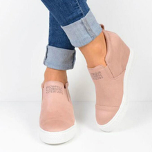 Europe Autumn Winter Women Shoes Short Boots Wedges Ankle High-heel Riding Equestrian Internal Increase Slip-on Shoes Woman jady rose strange heel women ankle boots high heel wedge shoes woman slip on wedges female autumn winter boot women pumps