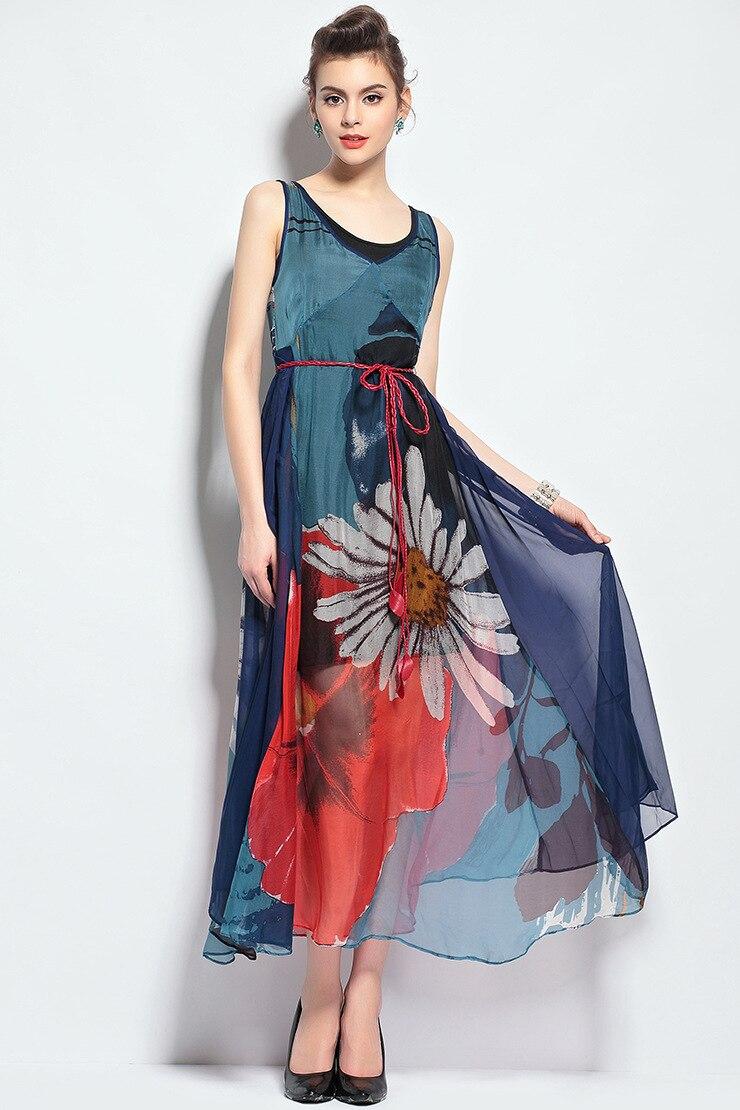 Платья шелковый шифон