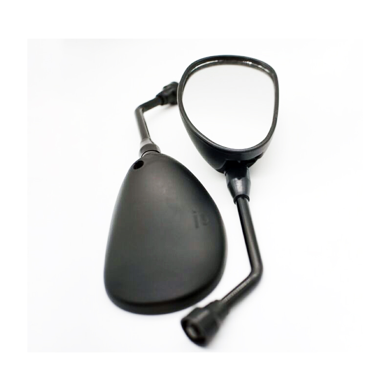 Motorcycle Mirrors 10mm Universal Motorbike Rearview Mirror Scooter Retro Black Mirrors Motocycle Accessories Motor Cheap Mirror