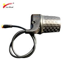Jueshuai Половина Твист дроссельной заслонки для ebike 36 в 48 в 72 в электрический велосипед ручка газа сильный acelerador скутер bycicle интимные аксессуары