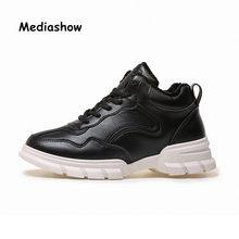 2018 Shoes White Shoe Women Fashion Brand Retro Platform Sneaker Lady Autumn  Winter footwear Breathable chaussure c55300cb594e