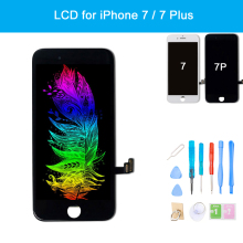 for iPhone 7 Plus LCD 3D Touch Screen Display Digitizer Assembly Replacement + Repair Tools