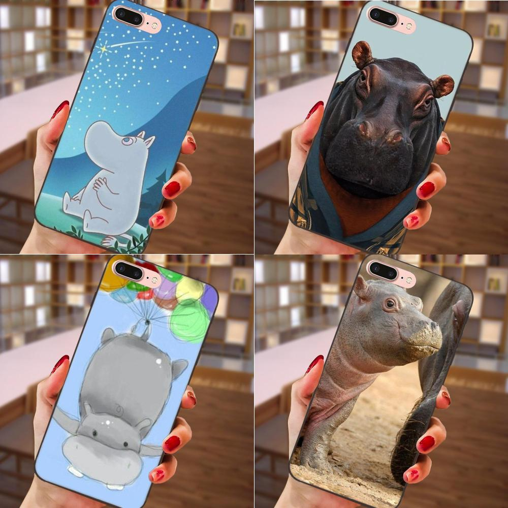 Half-wrapped Case Liberal Soft Tpu Cell Phone Cover Case For Samsung Galaxy A3 A5 A6 A6s A7 A8 A9 Star Plus 2016 2017 2018 Hippo Animal Cartoon To Be Distributed All Over The World