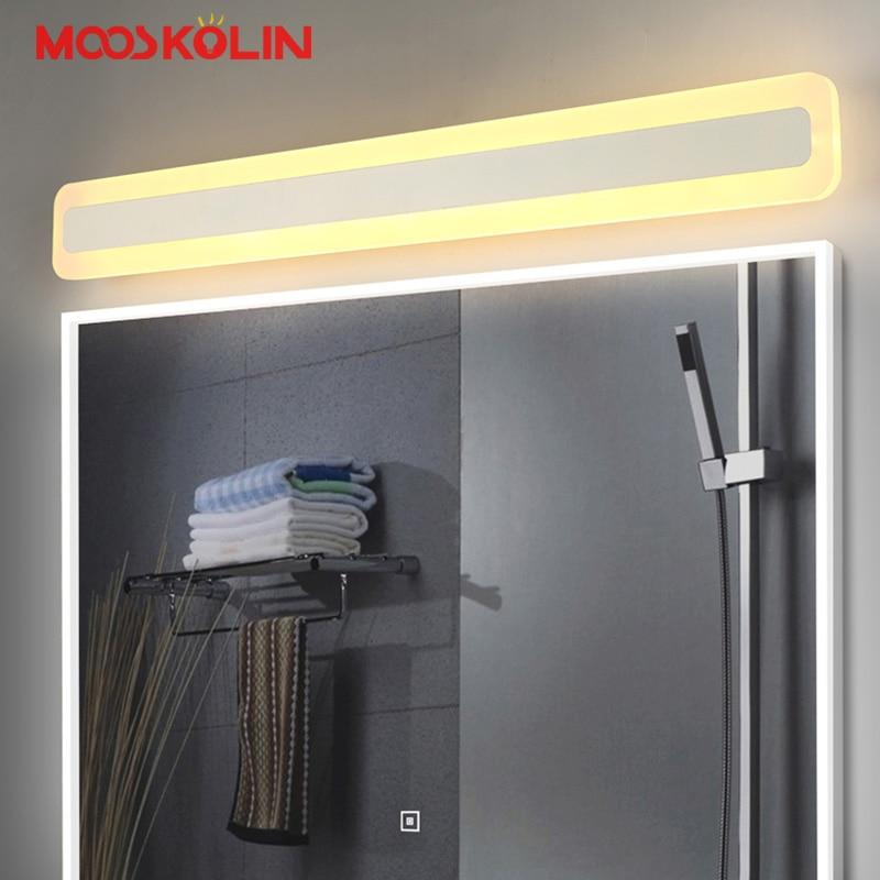 Новый Дизайн Крытый Настенные светильники лампы 15/23 Вт/31 Вт LED свет зеркала для Спальня Ванная комната лампа водонепроницаемый бра vanity свет ...
