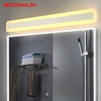 新しいデザイン屋内ウォールライトランプ15/23ワット/31ワットledミラーライト寝室用浴室ランプ防水壁取り付け用燭台バニティ光ランプ