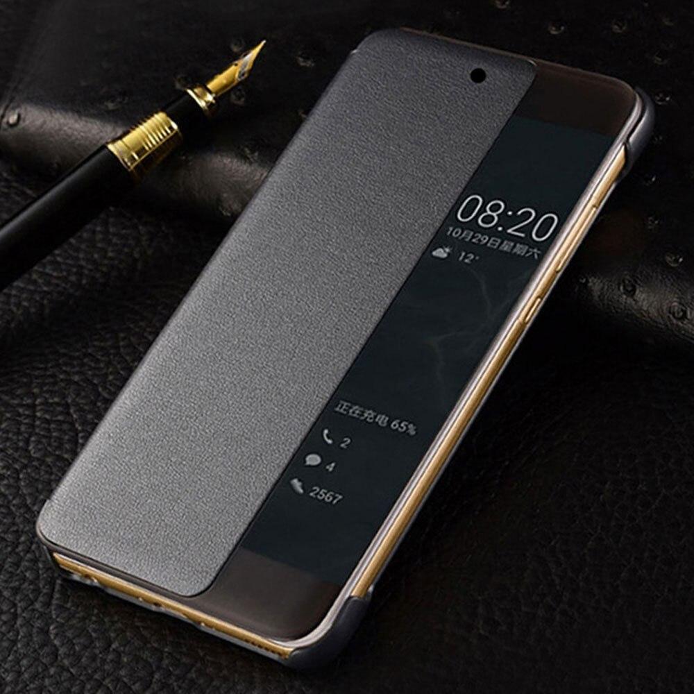 Оригинальный Smart View чехол для Huawei P20 Pro Авто Sleep проснуться флип-чехол Тонкий чехол для телефона для Huawei P20 плюс P20 + Fundas Капа