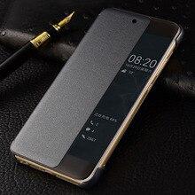 Original Smart View Case For Huawei P20 Pro Auto Sleep Wake Up Flip Cover Slim Phone Plus P20+ Fundas Capa