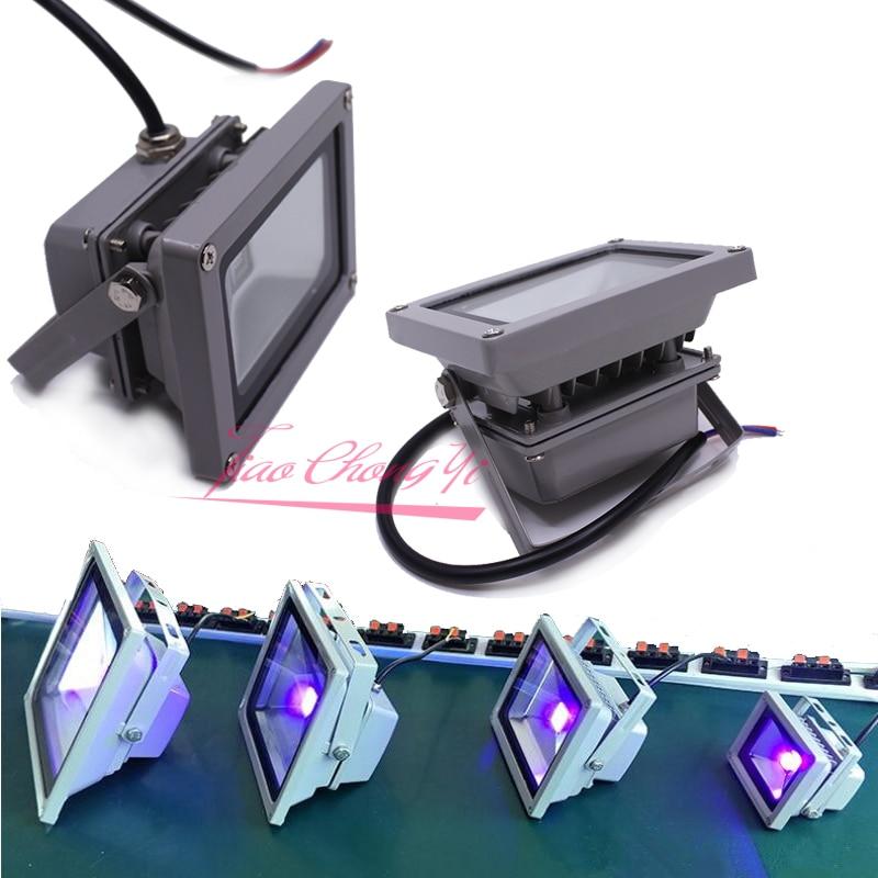 10w 20w 30w 50w UV Glue Curing High Power UV led 395nm 365nm Floodlight Ultraviolet lamp 50w uv purple led ultraviolet bulbs lamp chips high power uv led 365nm 395nm uv led ultraviolet lamp light diy