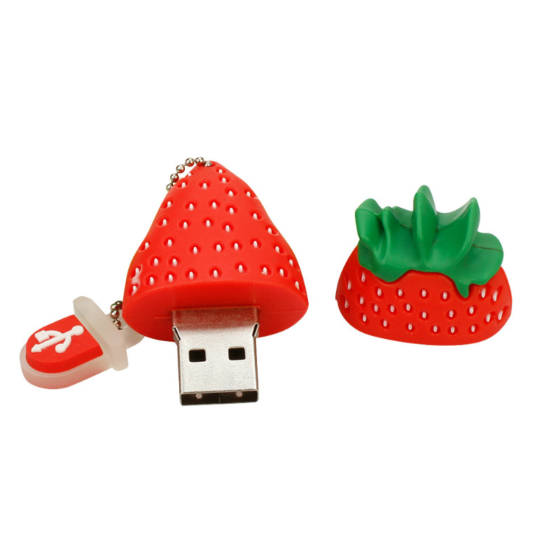 Image 2 - Wholesale Vegetables Fruit Pen Drive 32GB 64GB USB Flash Drive Cute Cartoon Pendrive 4G 8GB 16GB Usb Stick 128GB Free Shipping-in USB Flash Drives from Computer & Office