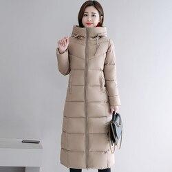 Stand Collar 2019 High Quality Warm Winter Jacket Women Outwear Winter Jackets Womens Female Snow Wear Coat Long Parka