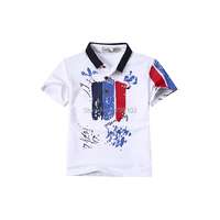 INMUSION Brand Design Summer Short Sleeved Polo Shirt For Boys 2017 Summer Cotton Kids Baby T