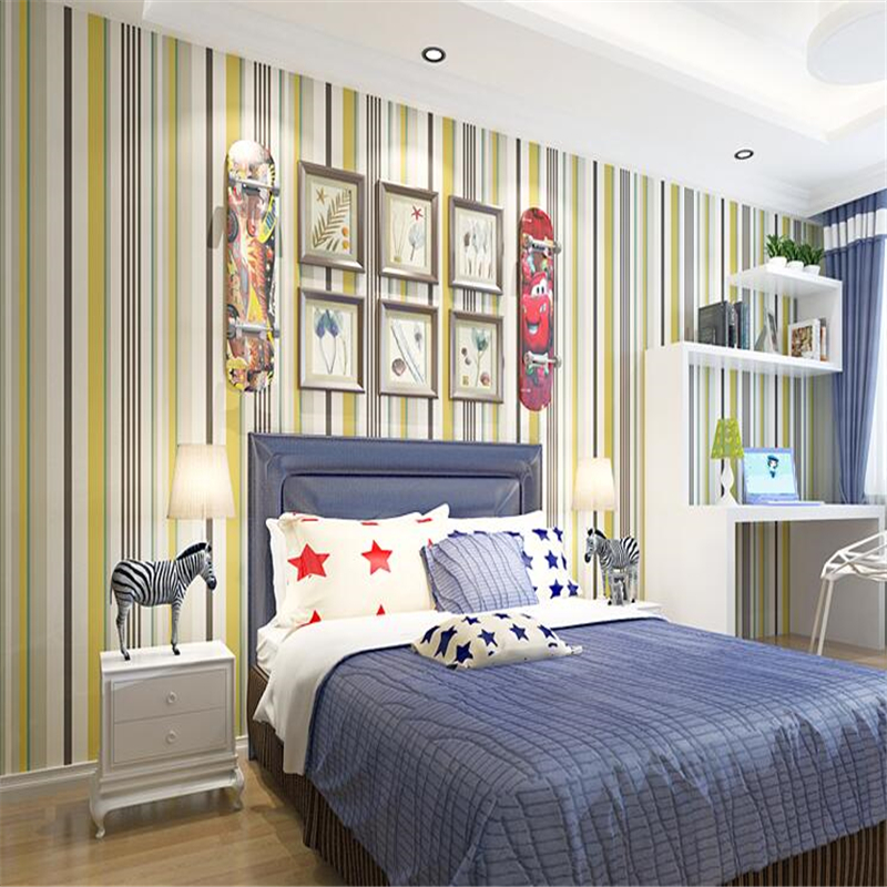 background bedroom simple living striped non wallpapers papel woven modern