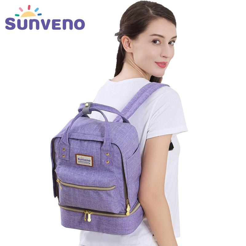 SUNVENO 2017 sac à langer bébé sac poussette sac maternité Nappy sac à dos bébé soin Bolsa Maternidade Bolsa Infantil