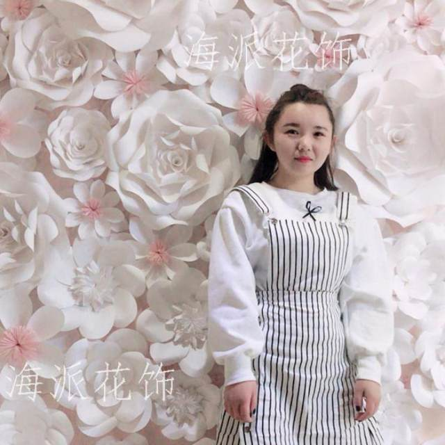 84pcs set large full wall giant paper flowers wedding backdrop backdrops wedding decoration windows display photo booth
