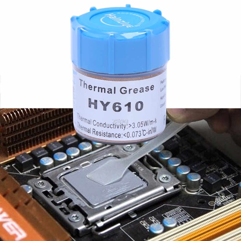 10g HY610-CN10 Thermal Grease Chipset CPU Cooling Compound Silicone Paste 3.05W JUN01 dropship