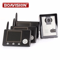 3 5 2 4G Wireless Video Door Phone Intercom System Night Vision Home Security Door Peephole