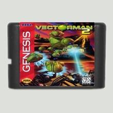Vectorman 2 16 bits MD Carte de Jeu Pour Sega Mega Drive Pour Sega Genesis