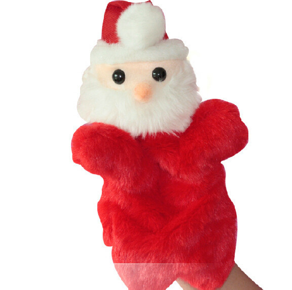 Father Christmas Cartoon Images.Story Toy 1pc 26cm Cartoon Father Christmas Santa Claus Hand Puppets Plush Sleeping Pacify Educational Game Early Baby Gift In Puppets From Toys