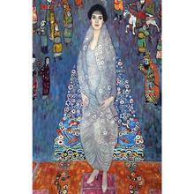 Картина Густава Климта портрета баронессы Elisabeth Bachofen Echt современное искусство высокого качества Ручная роспись