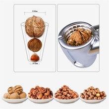 Щелкунчик из цинкового сплава, Щелкунчик, орех, орех, Щелкунчик, быстрый орех, миндаль, пекан, Щелкунчик, кухонный инструмент, аксессуары